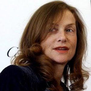 Atriz Isabelle Huppert