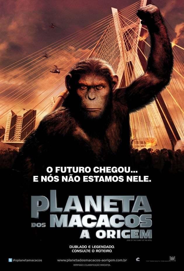 Crítica: Planeta dos Macacos - A Origem - Vertentes do Cinema