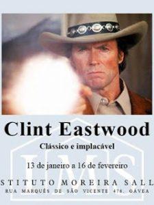 Mostra Clint Eastwood – Clássico e implacável