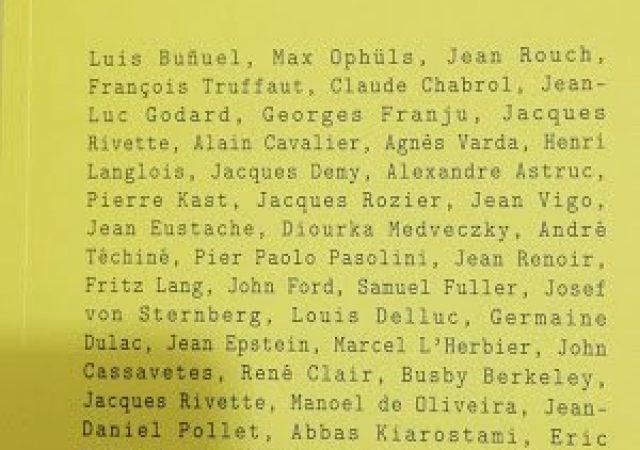 Cineastas, Do Nosso Tempo: Jean-Luc Godard