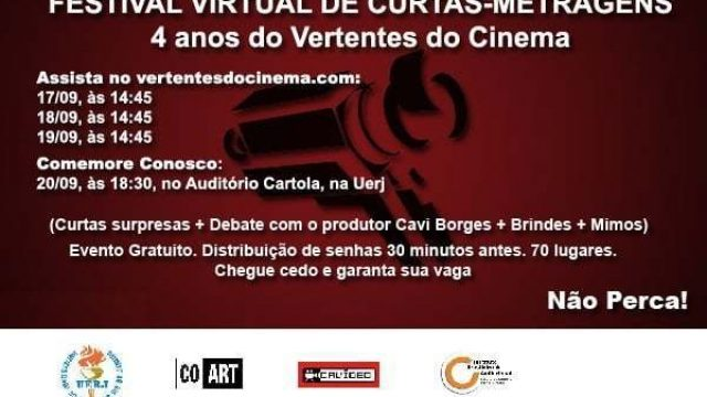 I Festival Virtual do Vertentes do Cinema