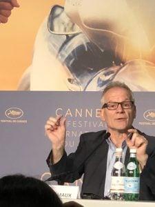 Festival de Cannes 2018: Dia Zero: Coletiva com Thierry Frémaux