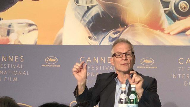 Festival de Cannes 2018 Com Thierry Frémaux