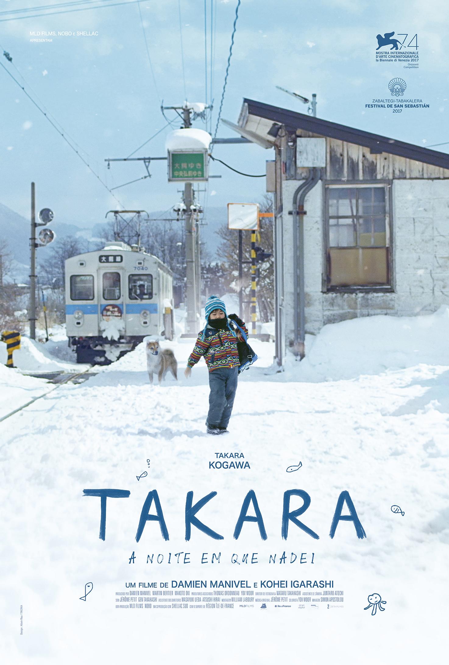 Takara - La nuit où j'ai nagé