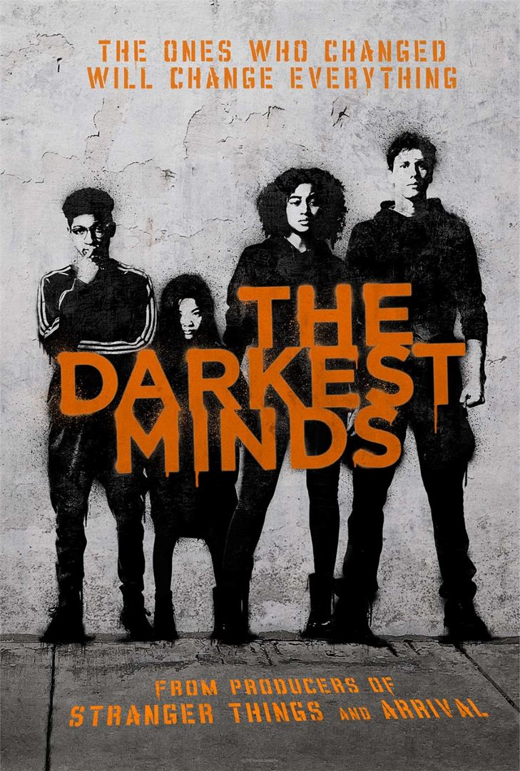 Resultado de imagem para darkest minds poster