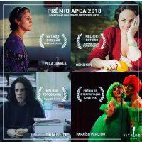 Prêmio APCA 2018 Cinema: Os Vencedores