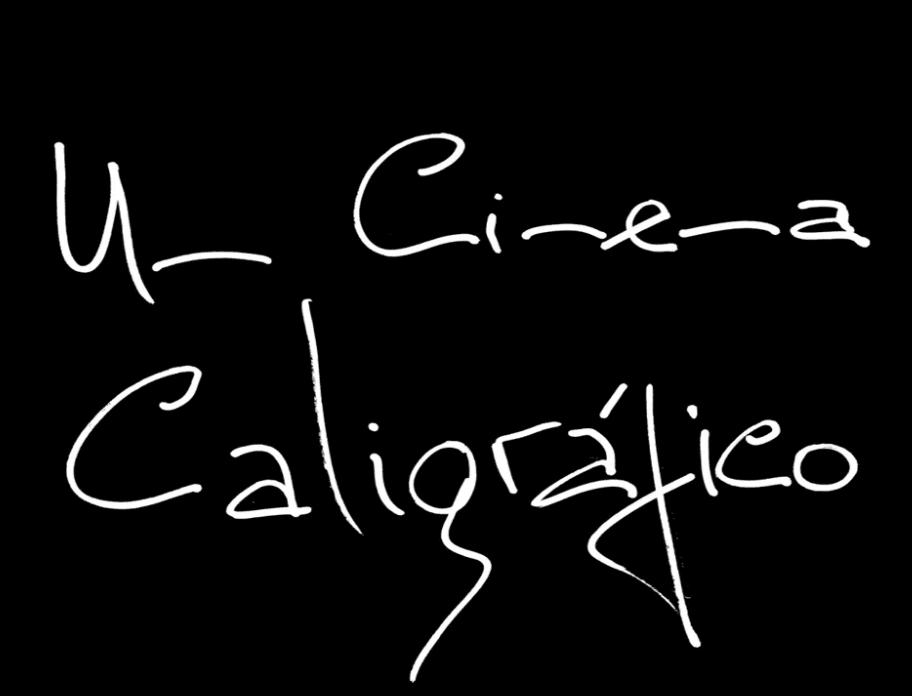 Um Cinema Caligráfico