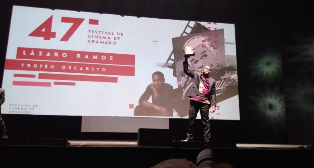 Homenagem a Lazaro Ramos