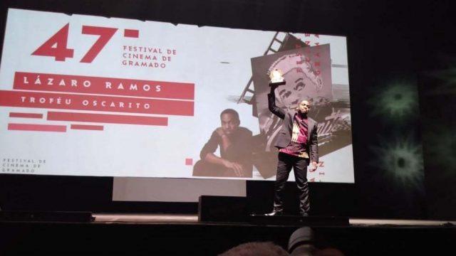 Homenagem a Lázaro Ramos no Festival de Gramado 2019!