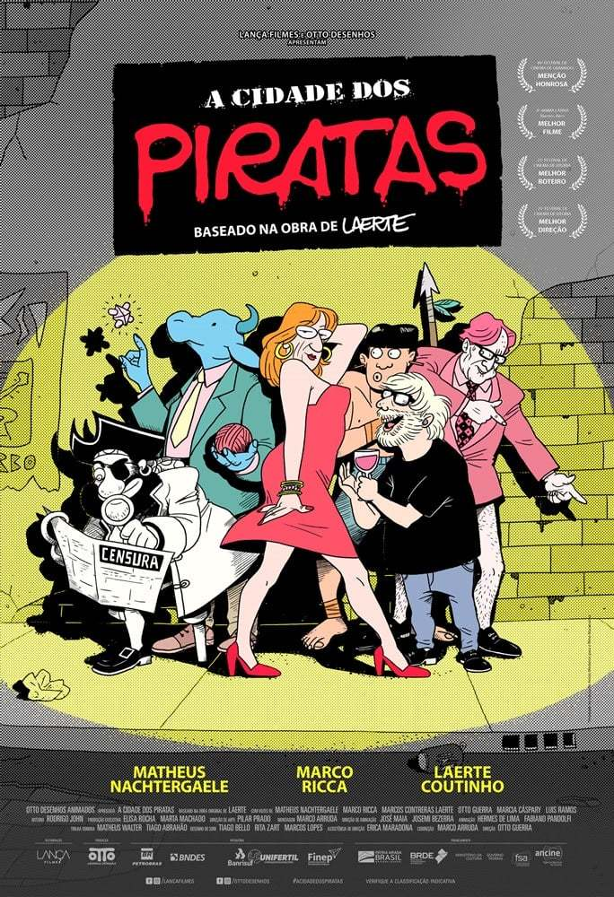 A Cidade Dos Piratas Vertentes Do Cinema