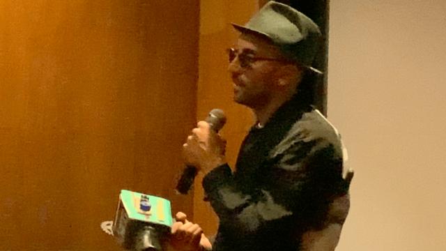 JR está no Brasil e fala sobre Agnès Varda