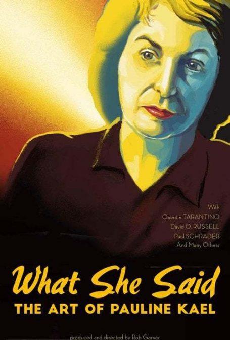 O Que Ela Disse? As Críticas de Pauline Kael