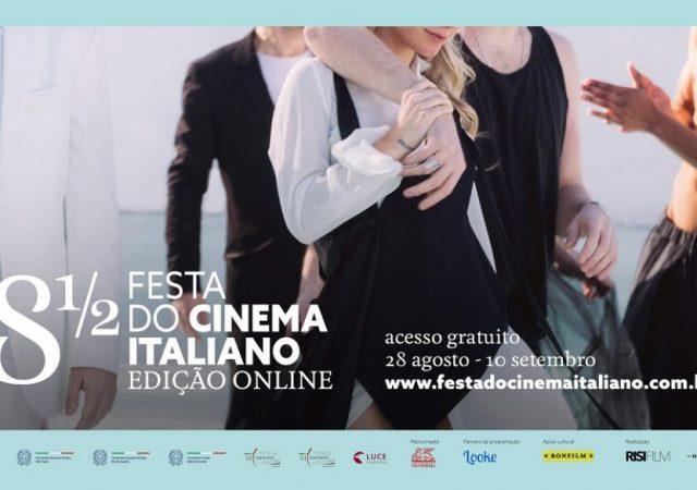 """8 ½ Festa do Cinema Italiano realiza em 2020 edição """"em casa"""" e gratuita"""