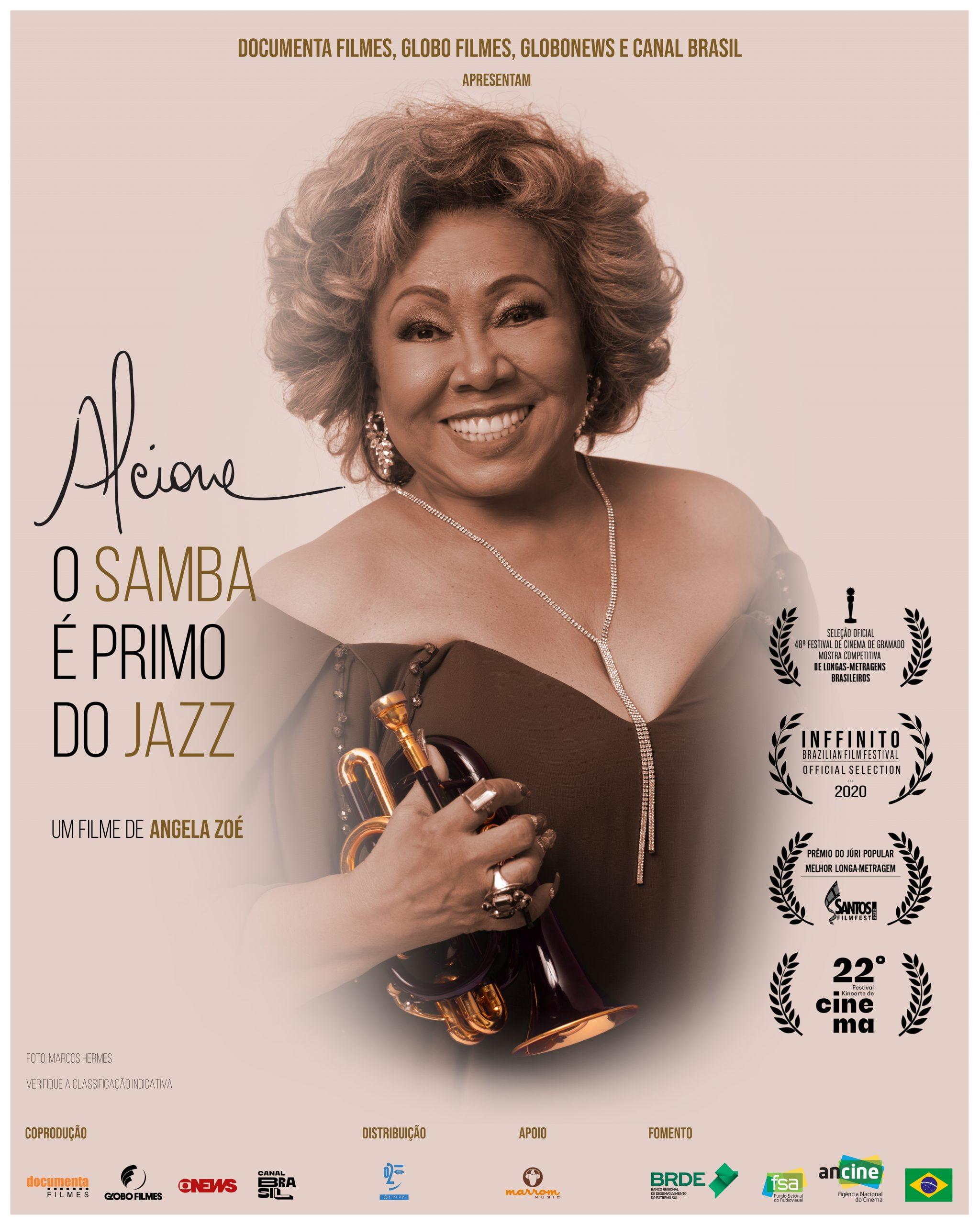 Alcione - O Samba e primo do jazz