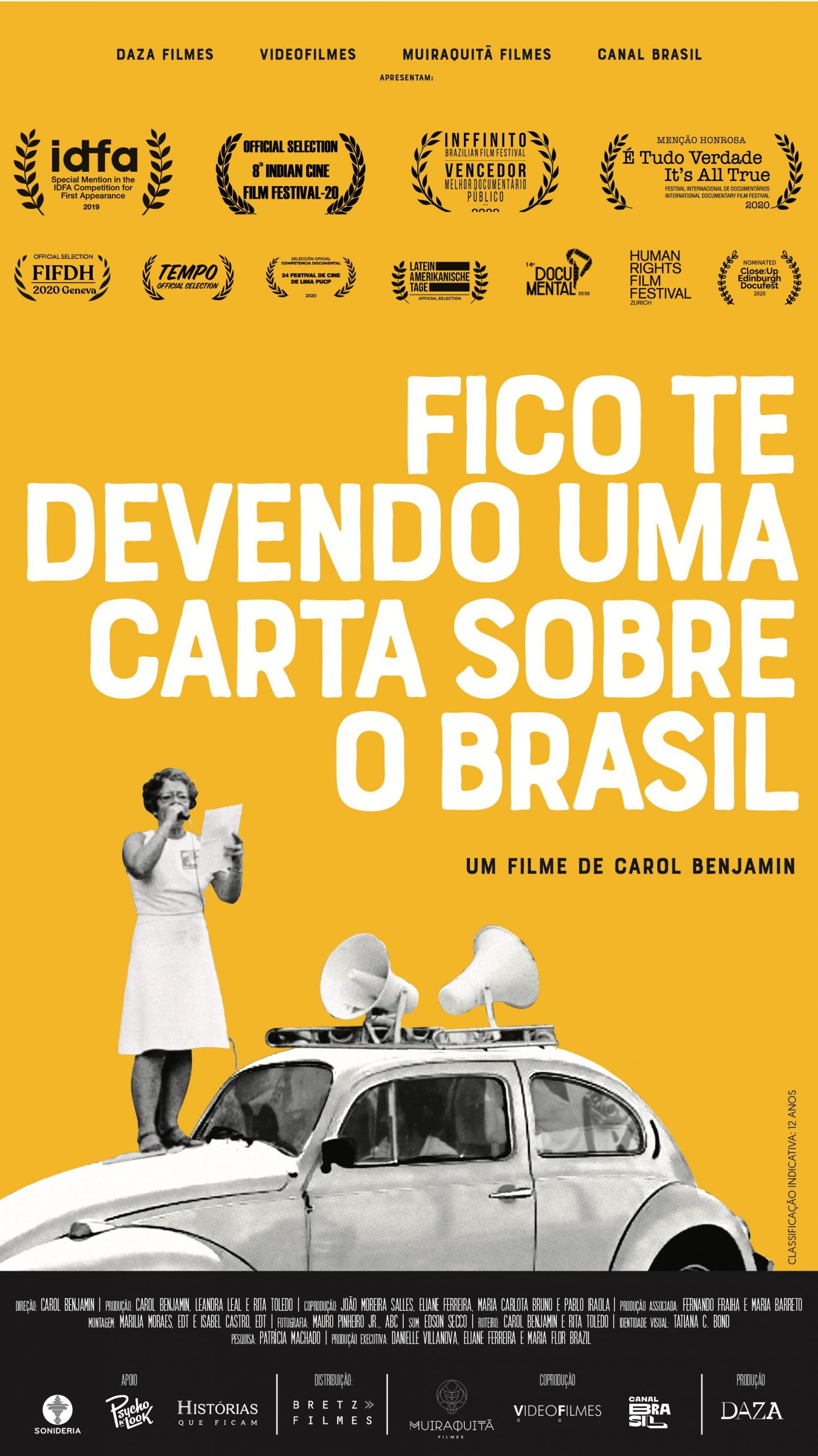 Fico te devendo uma carta sobre o Brasil